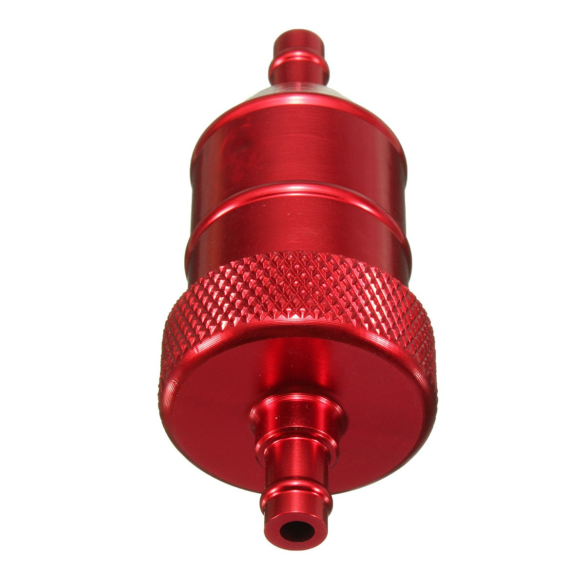 moto Fuel Filter - SODIAL(R) UNIVERSAL 6MM 1/4' MOTORCYCLE MOTORBIKE SCOOTER QUAD PIT BIKE CNC FUEL FILTER -Red 060891A4