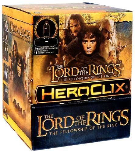 Lord of the Rings: Fellowship of the Ring HeroClix - Gravity Feed Display (24)
