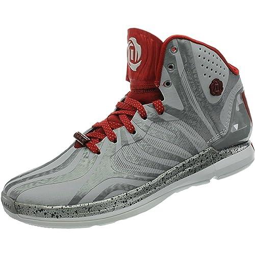 adidas Rosa, D 4,5 Zapatillas de Baloncesto Hombre, Hombre, Grey ...