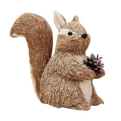 Christmas Squirrel.Amazon Com Healifty Decor Christmas Squirrel Christmas