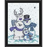 Design Works Counted Cross Stitch kit 8'' x 10'' ~ SNOW PALS #5908