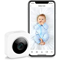 SwitchBot Security Indoor Camera, Motion Detection for Baby Monitor 1080P Smart Surveillance WiFi Pet Camera for Home…