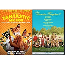 Moonrise Kingdom + Fantastic Mr. Fox 2 DVD Set Wes Anderson Films Double Feature