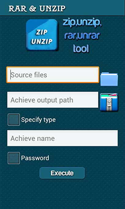 Amazon com: Rar archive,zip and unzip: Appstore for Android