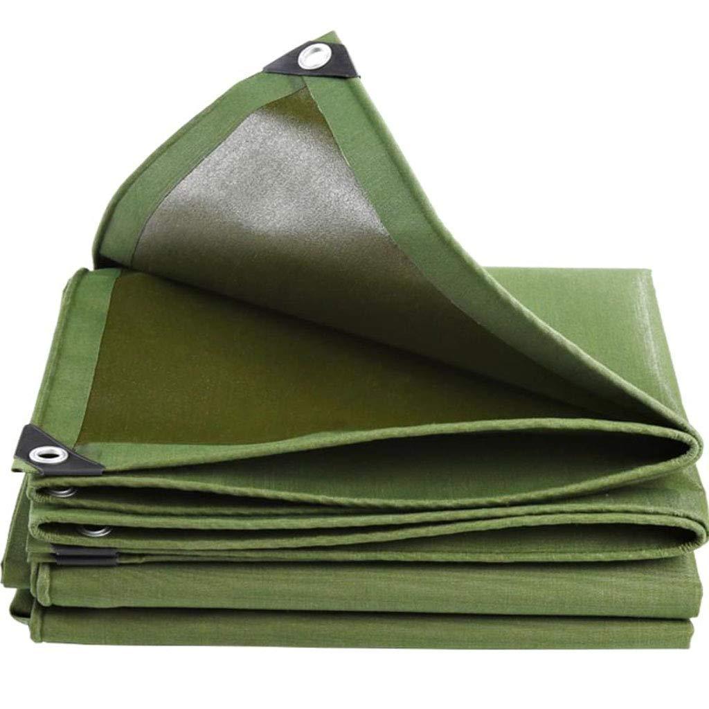 KF Grüne im Freien gepolsterte Poncho-Plane Plane, Sonnencreme Regen Leinwand Plane Plane 5  6m, 6  8m B07MV86RBY Kuppelzelte Jugend