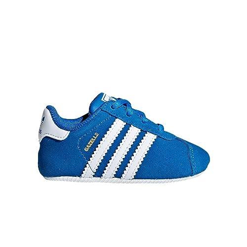 Adidas Gazelle Crib, Zapatillas Bebé-para Niños: Amazon.es: Zapatos y complementos