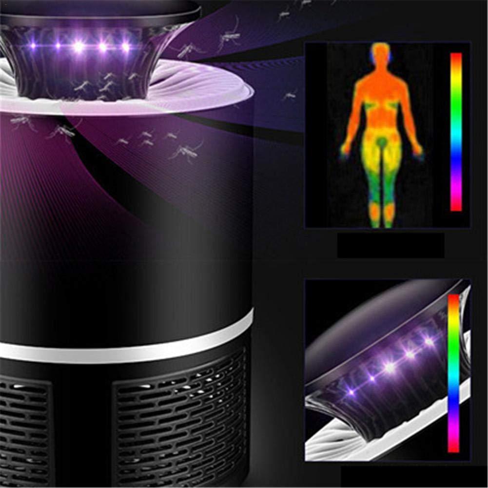iBaste/_Moskito-Lampe LED USB Elektrische Moskito Killer Fliegen M/örder Lampe Insekt Catcher Trap Lampe Strahlung Photokatalysator Physische Moskito Repeller