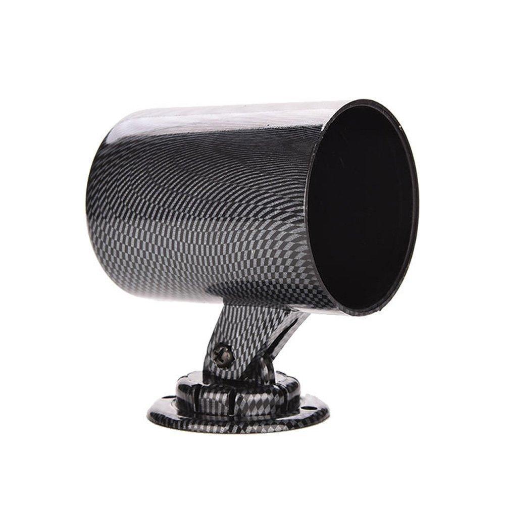 Mintice™ 2' 52mm universel fibre de carbone Un seul trou tableau de bord Porte-gobelet mètre
