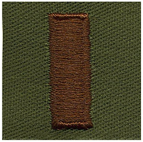 Vanguard AIR FORCE EMBROIDERED RANK: SECOND LIEUTENANT - SUBDUED FATIGUE