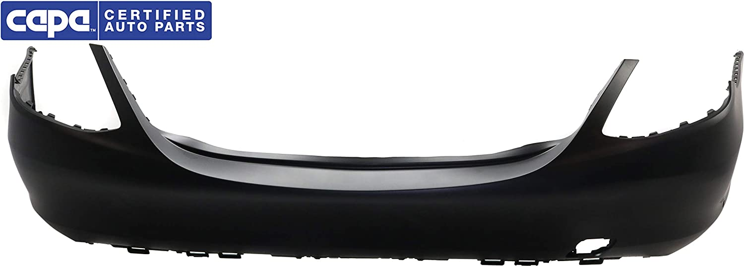 Rear Bumper Cover Compatible with 2015-2018 Mercedes Benz C300 Primed with AMG Package Sedan