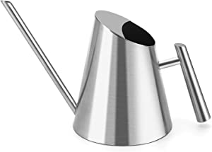 GOMYHOM Watering Can Indoor Plants, Small Stainless Steel Plant Watering Can, Watering Pot with Long Straight Spout to Prevent Spillage, Metal Watering Pot for House Bonsai & Flowers 30 oz.