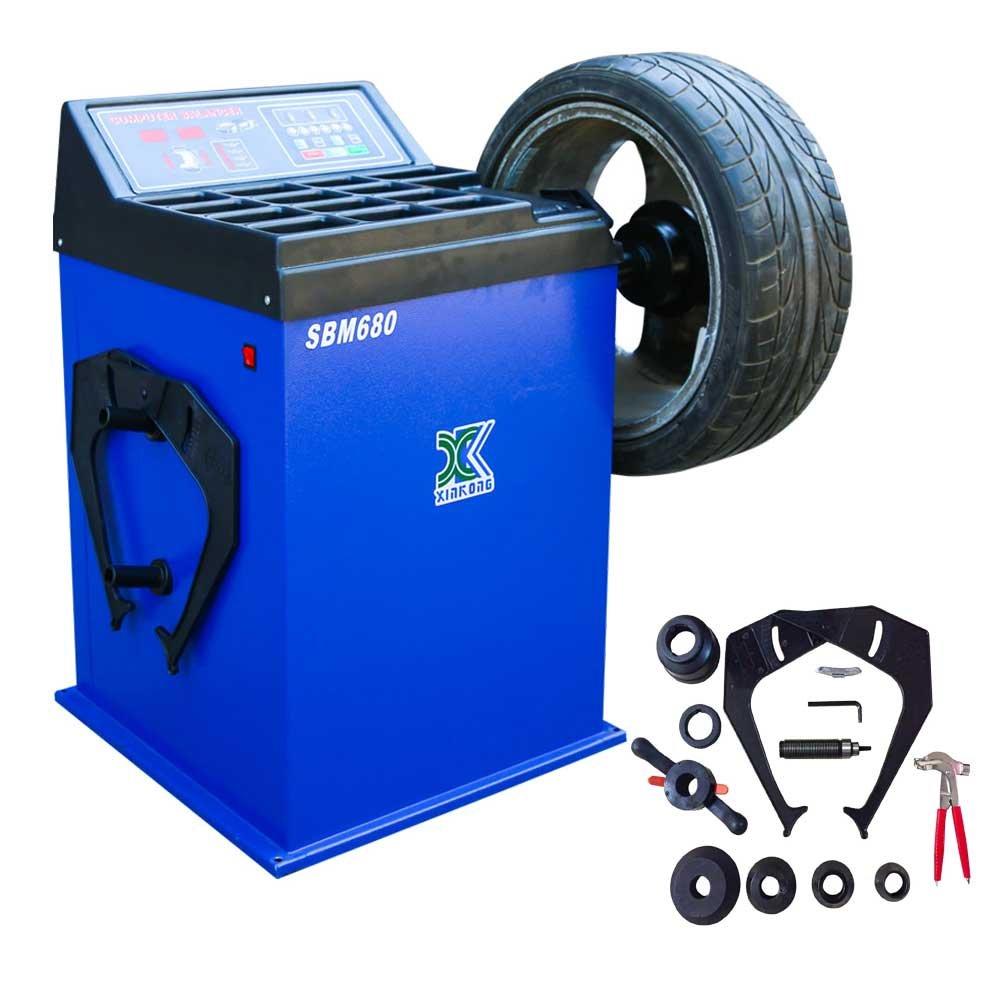 Upgrade Wheel Balancer Tire Balancers Machine Rim Car Heavy Duty 680