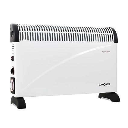 Klarstein • HT005CV • Radiador por convección • Calefactor electrico • Calentador • 2000 W •