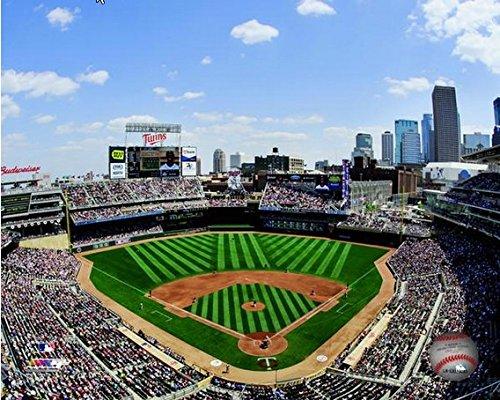 Minnesota Twins Target Field 2014 MLB Stadium Photo (Size: 16