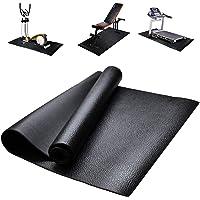 Loopbandmat, vloerbeschermer, fitnessapparatuur en oefenmat, antislip schokbestendige vloerbeschermermat voor loopbanden…