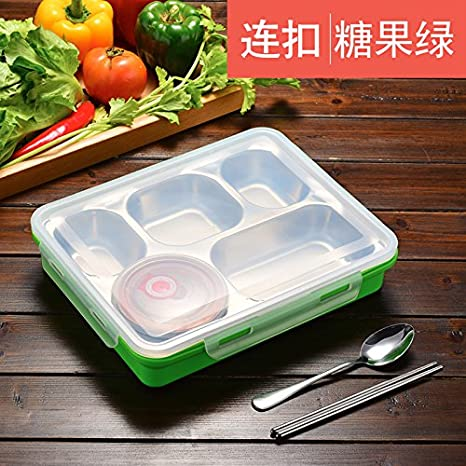 Bei2O lunch box Recipiente alimentos acero inoxidable ...