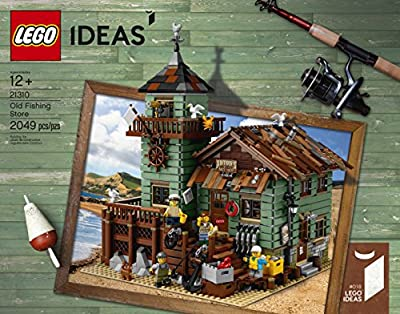 LEGO Ideas Old Fishing Store 21310 Building Kit (2049 Piece) by LEGO