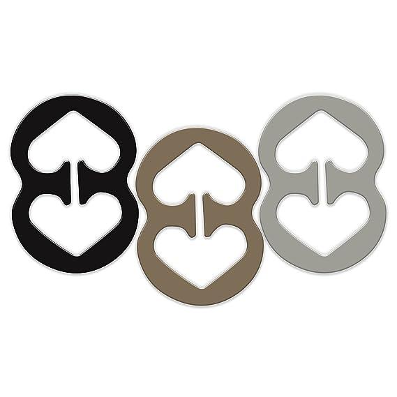 RAZOR Clips 3 piezas sujetador clips de la correa de ocultación de las correas del sujetador de clip control de la hendidura 3 Medio ...