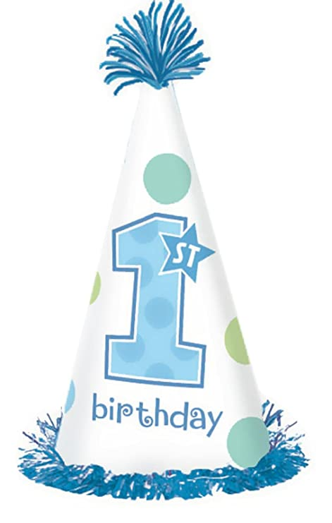 Amazon First Birthday Boy Fringe Party Hat Toys Games