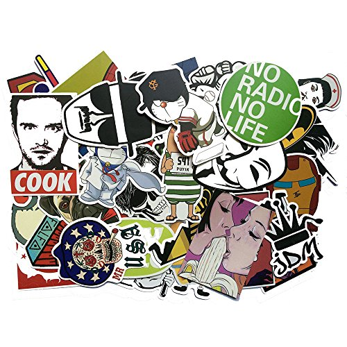 Cool Sticker Skateboard Luggage Stickers product image