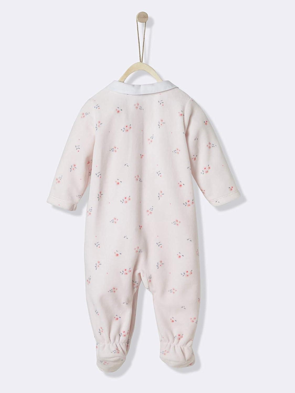 Cyrillus - Pelele para Dormir - para bebé niña Rosa Geblümt ...