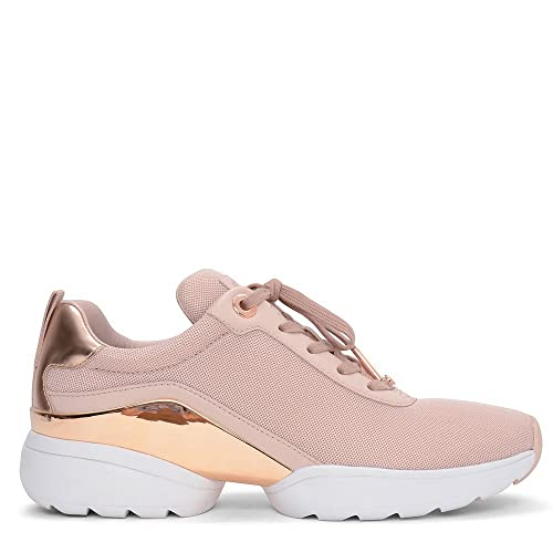 437f4b7ed4c8a Michael Kors Jada Metallic Lace-up Trainer in Pink  Amazon.co.uk  Shoes    Bags