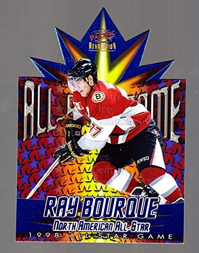 1997 Nhl All Star Game ((CI) Ray Bourque Hockey Card 1997-98 Revolution 1998 AS Game Die-Cuts 2 Ray Bourque)
