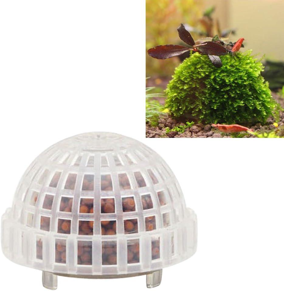 Zehui Natural Mineral Aquatic Bio Moss Container Ball Fish Tank Decor Aquarium Accessories