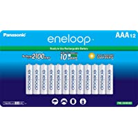 12-Pack Panasonic AAA 2100 Cycle Ni-MH Rechargeable Batteries