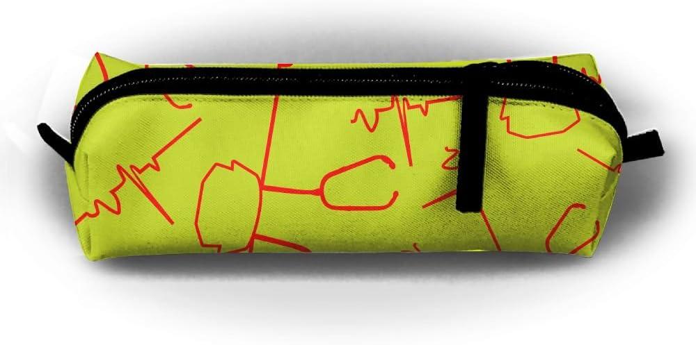 Jdhg - Estuche para bolígrafos, diseño de enfermera, bolsa de lápices Oxford con cremallera: Amazon.es: Hogar