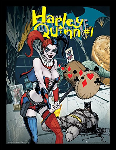 DC Comics Justice League 30 X 40 cm Harley Quinn #1