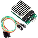 MAX7219 Dot Matrix Module Microcontroller Module Compatible With Arduino by Atomic Market