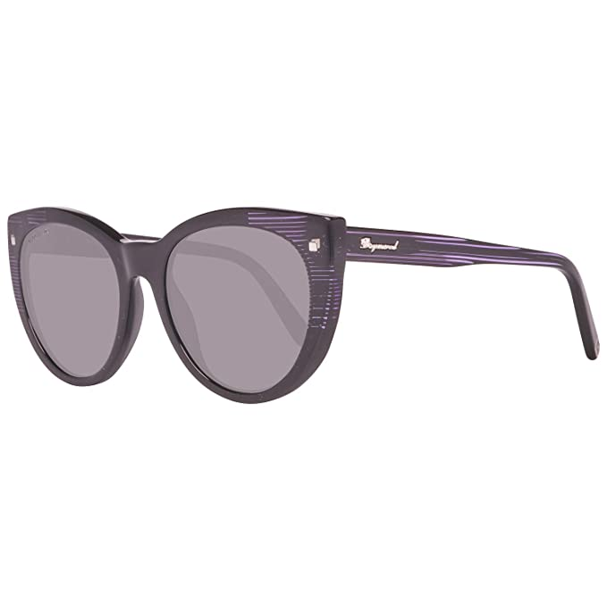 Dsquared2 Sonnenbrille DQ0180 01A 55 Gafas de sol, Negro ...