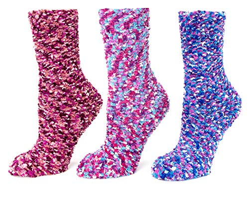 - Red Bene Women's Multi-Bobble Fuzzy Socks Gift Box Set B04-ABC