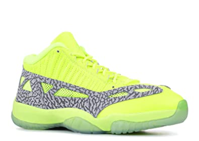09579f67d3874f Image Unavailable. Image not available for. Color  Jordan Air XI (11) Retro  Low IE (Highlighter)