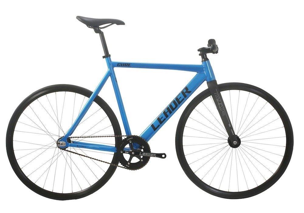 LEADER BIKES リーダーバイク CURE 2017 Complete Bike キュア コンプリートバイク 完成車 B01BRBU0G4 M (57cm)|BLUE BLUE M (57cm)