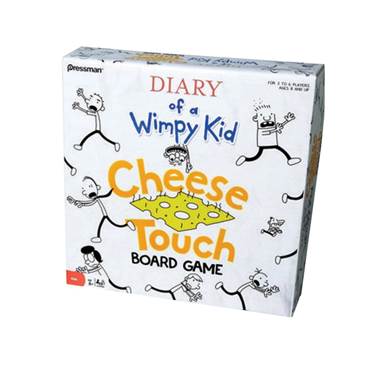 diary of a wimpy kid cheese touch board game paul lamond games