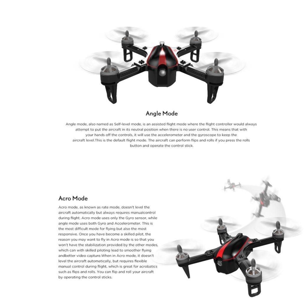Siviki MJX Bug3 B3mini Brushless Motor RC Aircraft Quadcopter Remote Control Drone Toy by Siviki (Image #2)