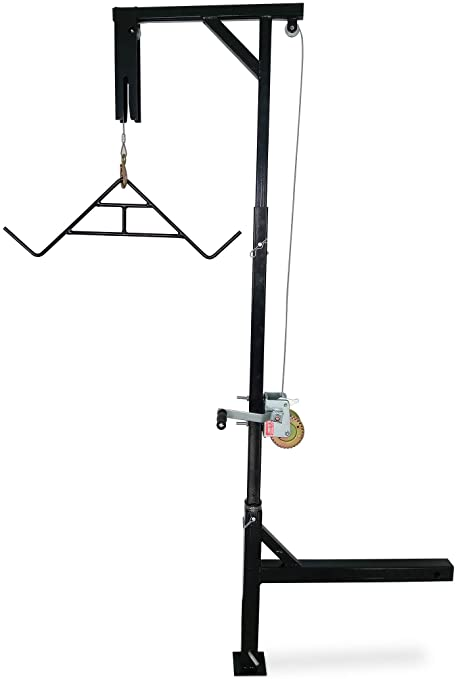 HME Products Truck Hitch Game Hoist Includes Winch//Gambrel Complete Kit New