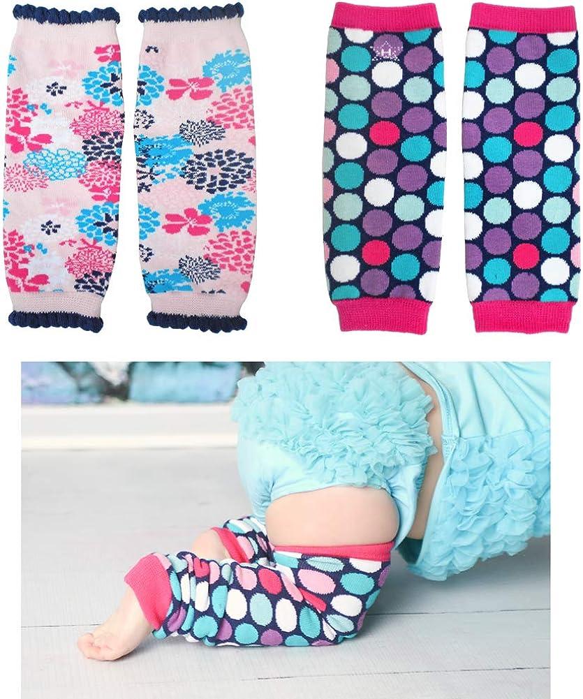 Huggalugs Sale 2 Piece Pack Infant Baby Boy or Girl Print Legwarmers