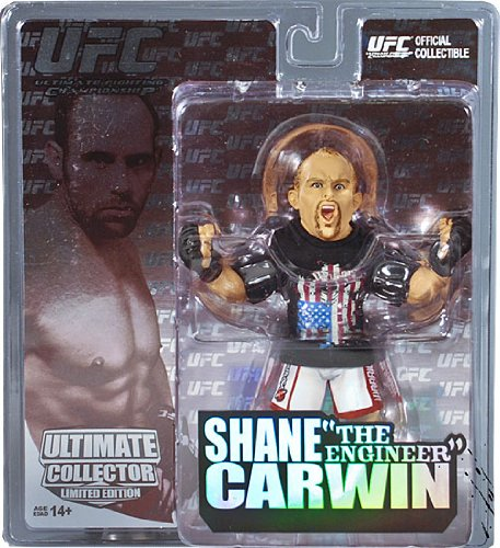 Round 5 UFC Ultimate Collector Series 5 LIMITED EDITION Action Figure Shane Carwin