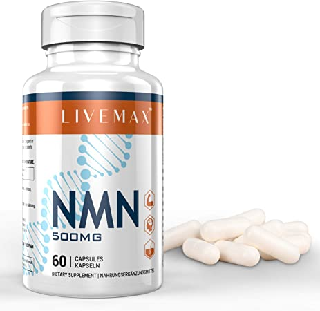 NMN Supplement 500mg- Enhance Concentration, Boost Energy, Improve Memory & Clarity for Men & Women - Your Best NAD Booster