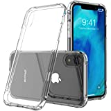 """iPhone XR Case, Transparent Clear Soft TPU Gel Cover Protective Case for iPhone XR iPhone 6.1"""" Shock-Absorption Bumper Cover"""