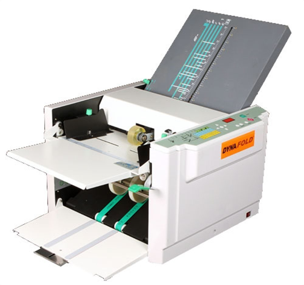 Dynafold DE-380 Commercial Grade Digital Paper Folding Machine, High Performance, Easy to Use, Digital Jam Sensor, Push Button Paper Setting, Self Adjusting to Paper Thickness, Load up to 500 Sheets