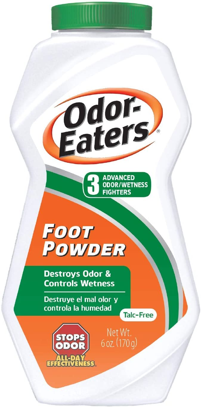 Odor-Eaters Foot Powder, 6-ounces, 4-pack: Health & Personal Care