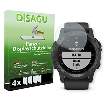 DISAGU 4 x Armor Screen Protector for Garmin Tactix Charlie Screen Fracture Protection Film
