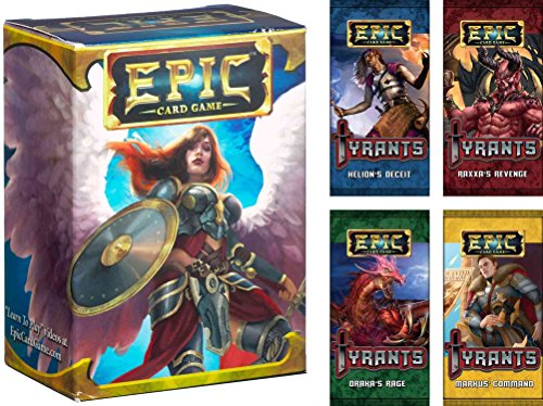 Epic Card Game Bundle of Base Game and Tyrants Set