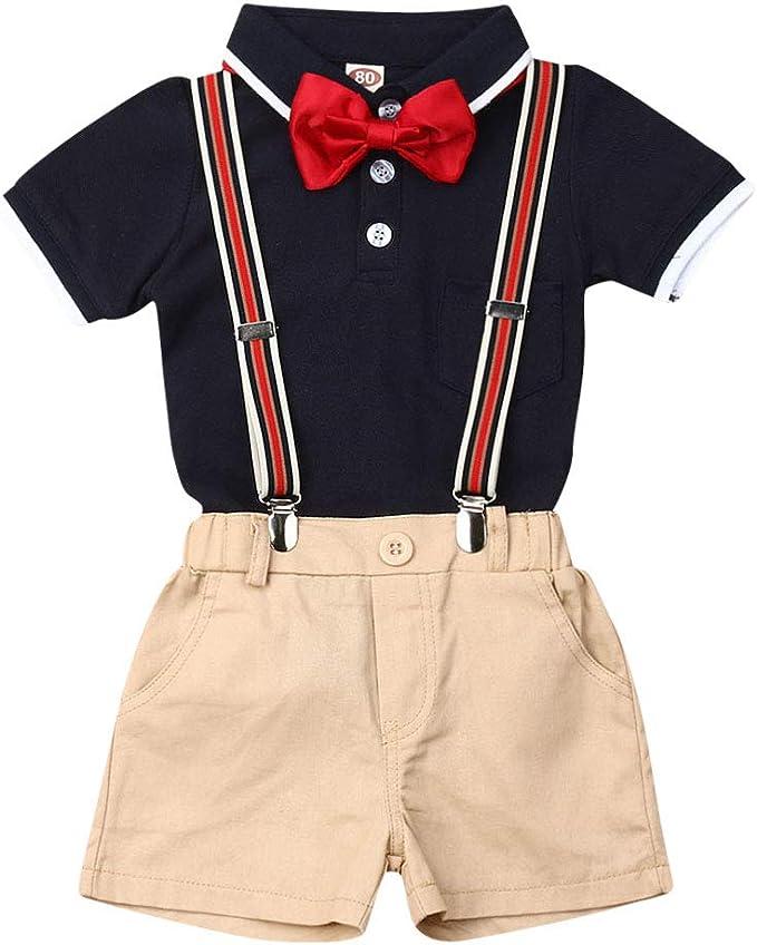 jsadfojas - Conjunto de Ropa para bebé y niño, Camisetas con ...