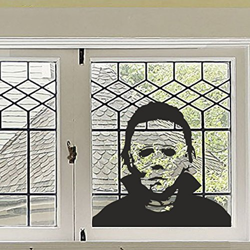 BATTOO Michael Myers Halloween Vinyl Wall Sticker Decal Horror Party Decal(27