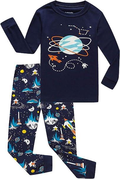 Family Feeling Pajamas Sets Little Big Girls Boys 100/% Cotton Kids PJS